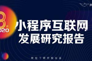 8月小程序互联网发展研究报告